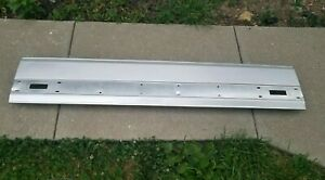 87 96 Ford F150 F250 F350 Tailgate Trim Panel Aluminum With Mount Brackets