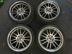 Volk Racing Re30 19 Wheels By Rays Engineering Tires Included Discontinued