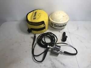 Trimble Gps Antenna 33580 50 With Case And Cables