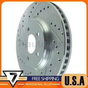 Front Right Disc Brake Rotor Stoptech 1x Fits 2005 2014 Mustang
