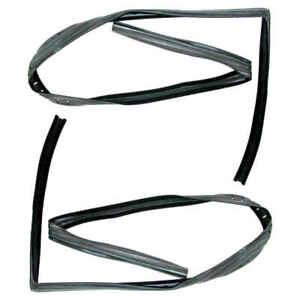 Glass Run Window Channel Kit For 97 03 Jeep Wrangler Pair