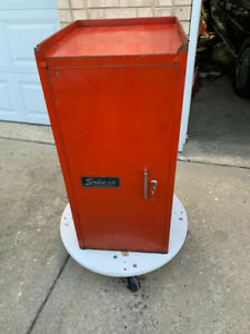 Vintage Snap On Toolbox Side Cabinet With 3 Drawers Kr 274a
