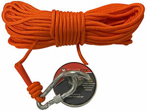 Sluice Fox Magnet Fishing Set With 65 Rope And Carabiner