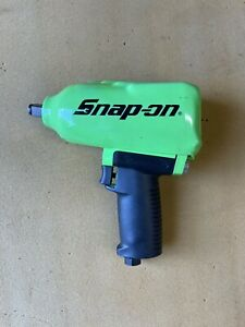 Snap On Mg725 1 2 Air Impact Wrench Green Brand New With Cover
