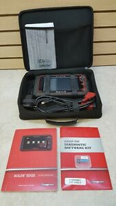 Great Cond Snap On Solus Edge Diagnastic Scanner Reader Eesc320 W Cords And Case