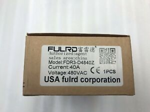 Fulrd Fdr3 d4840z 3 Phase Solid State Relay