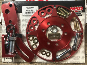 Msd Ignition Flying Magnetic Crank Trigger Kit Big Block Chevy 8620