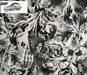 Wholesale Hydrographics Dip Film Water Transfer 1 10m Black Marble water Diop
