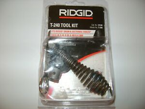 Ridgid T 240 Tool Kit T 240 For 5 8 Cable
