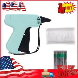 Clothes Garment Sewing Price Label Tagging Gun 5 Needles 1000 Barbs a