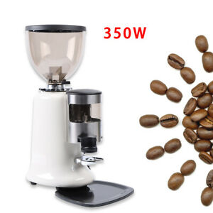 350w Commercial Coffee Grinder Electric Grind Automatic Burr Mill Bean Home