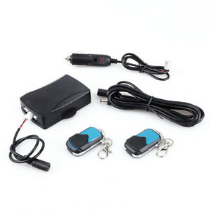 Universal Wireless Remote Control System Exhaust Muffler Electric Valve Cutout