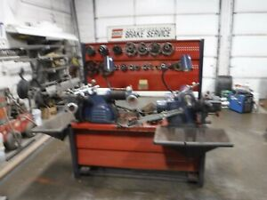 Ammco Brake Lathes Lot 3000 And 7000 Machine S Loaded With Extras Lathe