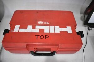 Hilti Te24 Corded Electric Rotart Hammer Drill With Case And Drillbits