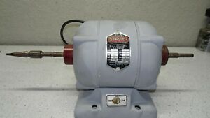 Red wing Model 25 1 6 Hp 115 Volts Ac Motor 2 Speed Dental Lathe