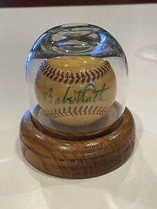 Handmade Glass Baseball Display Case With Wood Base ball Not Included
