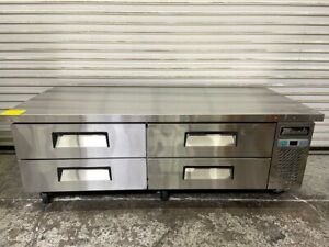 New 72 Refrigerated Chef Base Equipment Stand Cooler 6 Migali C cb72 hc 6249
