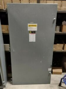 H365 Square D Safety Switch 400 Amps 480 Vac 600 Vac Series D2 Fusible 3p