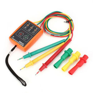 Sm852b 3 phase Rotation Tester Digital Phase Indicator Detector A2a7