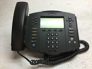 Polycom Soundpoint Ip 601 Sip Phone With Handset And Stand Reset To Factory