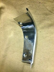 1955 1956 Thunderbird Original Lh Driver Side Grille Stainless End Trim