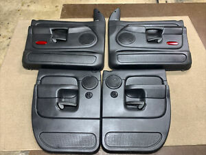 02 05 Dodge Ram 1500 Power Front Rear Door Panels Oem From A Quad Cab Slate
