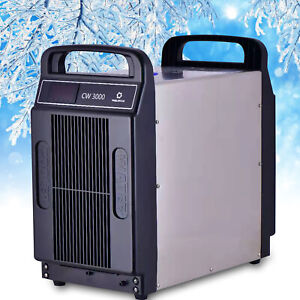 Cw 3000 Industrial Water Chiller For Cnc Laser Engraving Machines 80w Co2 Tube