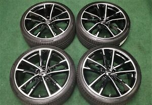 Factory Audi Rs7 Performance Package 21 Oem Wheels New Tires A7 S7 Black Rims