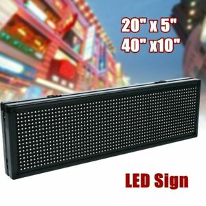 Led Scrolling Sign 8gb Usb Flash Drive Programble Outdoor Advertising Board