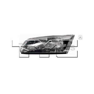 Headlight Assembly Left Right Tyc Fit Toyota Camry 1997 1999