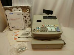 Royal 482nt Cash Register Programmable Good Working Condition Keys Manual