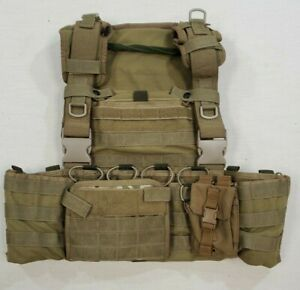 High Speed Gear Chest Rig AO NEO Rhodesian with Extras Coyote SEAL DEVGRU $199.99
