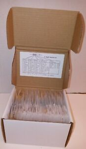 Electronic Components 1 4 W Resistor Kit 86 Values 860 Pieces New