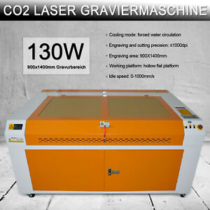 130w 55x35 Inch Co2 Laser Engraver Engraving Machine With 5000 Water Chiller