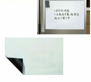 Magnetic Whiteboard Dry Erase Board Wall Decors Fridge Magnet Stickers Writing