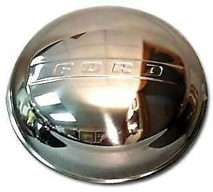 1948 60 Ford Pickup Truck Polished Stainless Hubcap For 16 Rims
