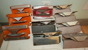 Lot Of 10 Various Color Amcraft Kerfing Tools For Hvac Insulation