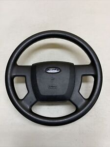 07 11 Ford Ranger Molded Rubber Steering Wheel No Cruise Control Oem Black
