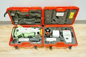 Leica Tcrp1203 R300 Reflectorless Robotic Total Station 3 Sec 1203