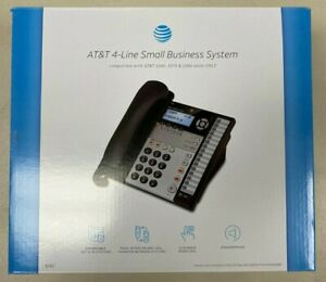 At t 1040 4 line Expandable Corded Phone System With Speakerphone 1 Handset