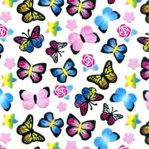 Water Transfer Dip Hydrographic Hydro Film 19x79 Colored Butterfly Girl Camo