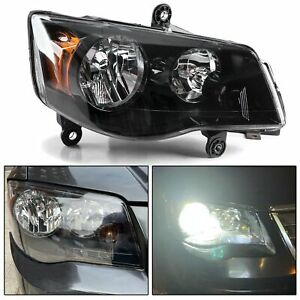 For 08 16 Chrysler Town Amp Country 11 17 Dodge Grand Caravan Right Side Headlight Fits 2011 Chrysler Town Amp Country