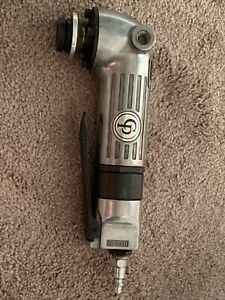Chicago Pneumatic 4 Heavy Duty Angle Grinder Cp854 Lot E1