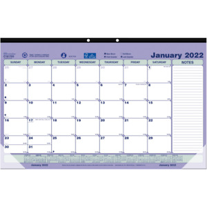 Brownline Monthly Desk Pad 17 3 4 X 10 7 8 January To December 2022 C181700