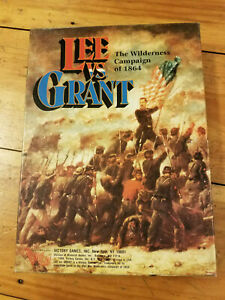 Lee vs Grant Wilderness Campaign Victory Games Mint Unpunched $50.00
