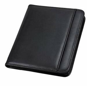 Samsill Professional Resume Padfolio With Secure Zippered Closure 10 5 X 13 I