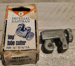 Vintage Imperial Eastman imp Tube Tubing Pipe Cutter Cutting Tool Usa 127 fb