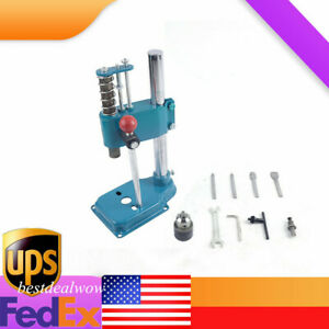 New Leather Imprinting Machine Diy Leather Hole Puncher Manual Punching Tool Usa