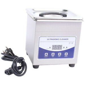 1 3l Ultrasonic Cleaner Stainless Steel Industry Heated Heater W timer Us Stock