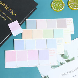 80sheets Sticky Notes Index Memo Pad Bookmarks Cute Scheduler Paper Sticker bp